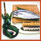 炙り 秋刀魚の押し寿司